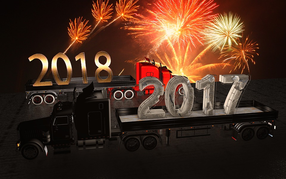 New Year'S Eve, 2017, 2018, Fireworks, Turn Of The Year