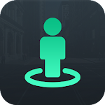 Live Earth Street Map - GPS Route, Street Panorama Icon
