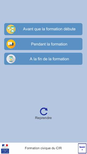 Formation Civique CIR Android App Screenshot