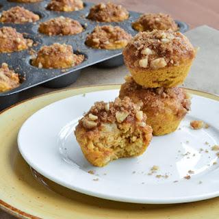 Mini Banana Pumpkin Muffins 35 mini muffins