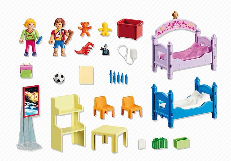 Contenido real dePlaymobil® 5306 Habitación de los Niños