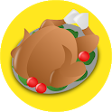 Recipes with chicken Offline icon