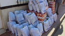 La empresa pulpileña ha donado una tonelada de alimentos.