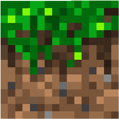 long grassy block