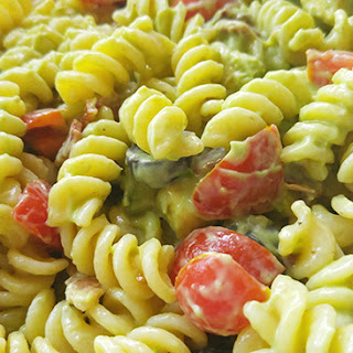 Avocado Bacon Pasta Salad