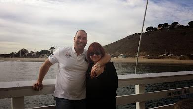 "Photo: ""Scott Binsack"" Tammy Calhoun 17 Month Affair Malibue meeting at the pier!!"