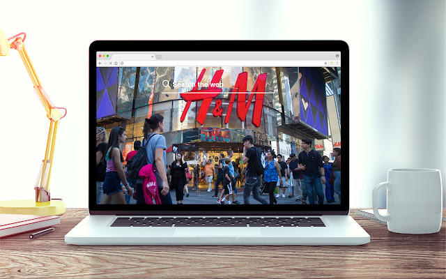 H&M Fashion and Style New Tab Theme