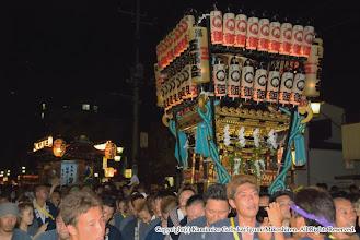 Photo: 【平成20年(2008) 本宮】  いよいよ神輿納め。山車とともに元町自治会館を目指す。