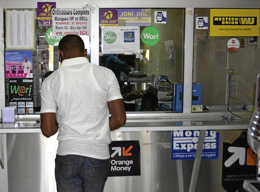 Quick cash: Money transfers are a popular transaction method in Senegal and the rest of West Africa, with Wari now vying with Orange for market share. Picture: REUTERS