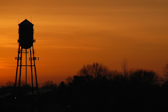 Photo: 1 ... Water Tower in the morning ... Garfield