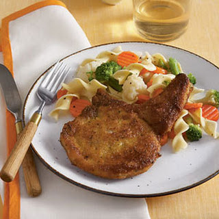 Dijon-Crusted Pork Chops