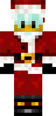 Donald Duck Weinachtmann Skin