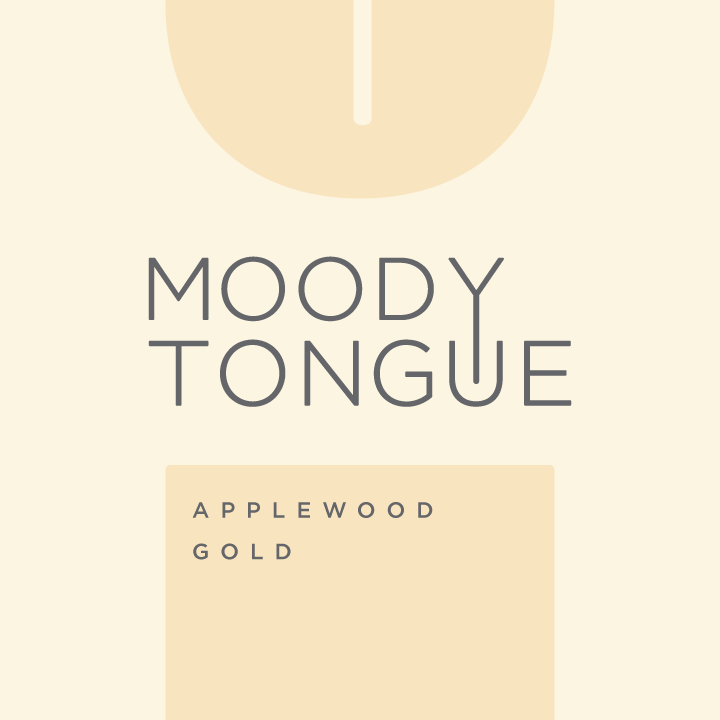 Logo of Moody Tongue Applewood Gold