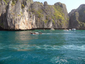 Photo: Start zur Bootstour vor Kho Phi Phi