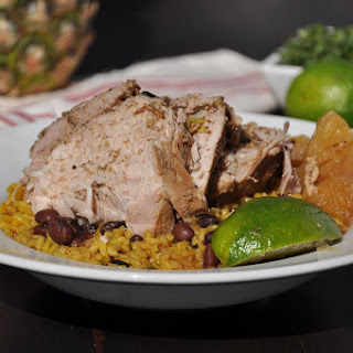 Slow Cooker Cuban Pineapple Pork Roast