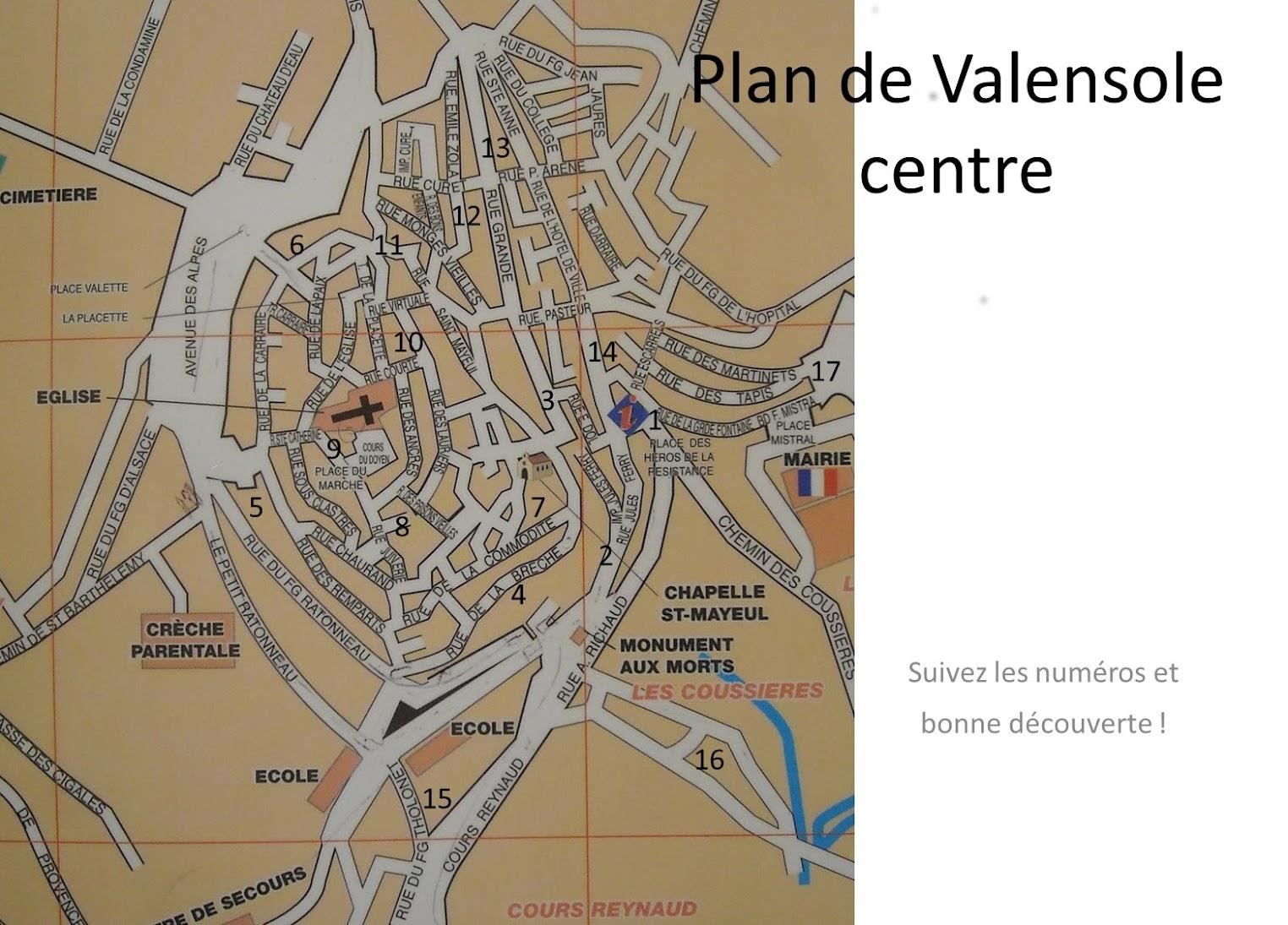 Карта Валенсоля