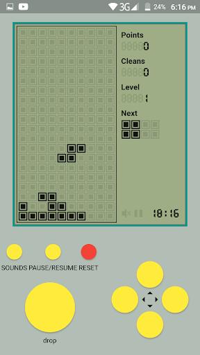 Old Classic Tetris - Brick Game android2mod screenshots 2