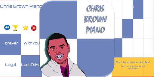 玩免費音樂APP|下載Piano Tiles - Chris Brown app不用錢|硬是要APP