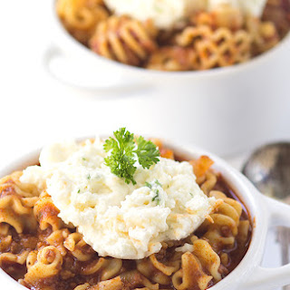 Spicy Lasagna Soup