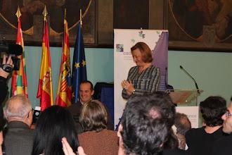 Photo: Entrega del Premio CADIS Huesca a Diego Ballesteros
