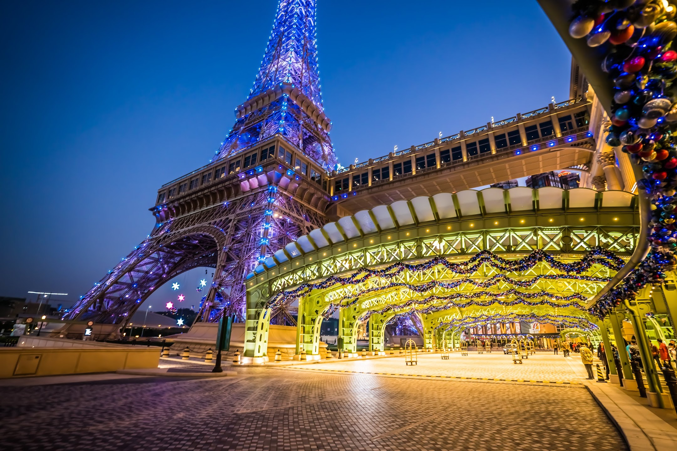 The Parisian Macao Eiffel Tower Evening1