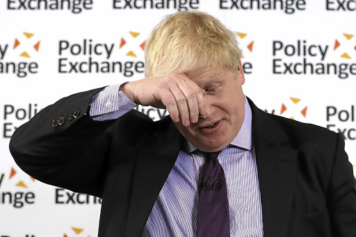Phew, glad that's over: Boris Johnson quit this week. Picture: Getty Images/Dan Kitwood