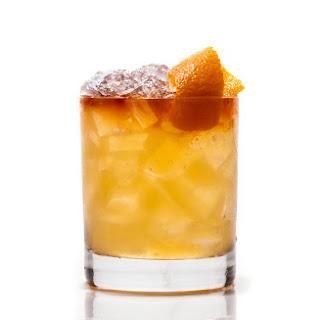 Bourbon & Tepache Cocktail.
