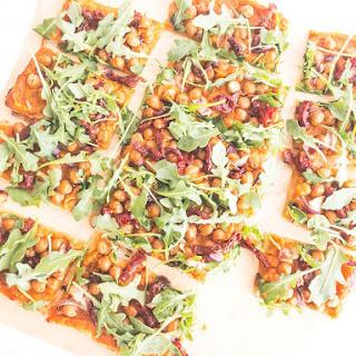 Chickpea Sweet Potato Pizza Recipe
