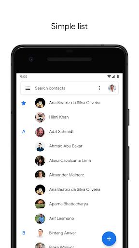 Contacts 3.7.7.260733580 screenshots 2