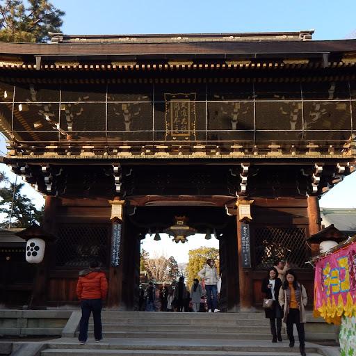 kyoto temple entre or