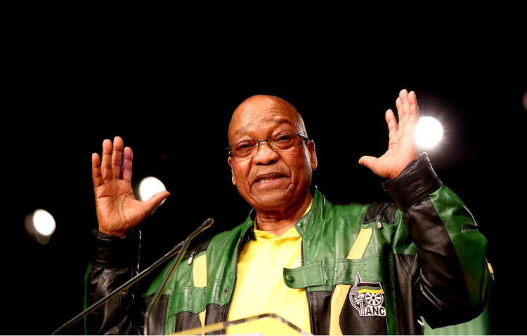 President Jacob Zuma at the ANC policy conference. Picture: MASI LOSI