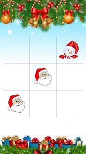 Christmas Tic Tac Toe - náhled