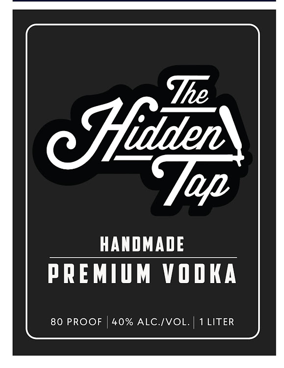 Logo for Hidden Tap Vodka
