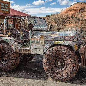 Metal Art by Brent Morris - Transportation Automobiles