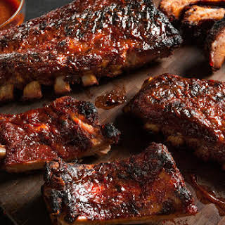 Easy BBQ Baby Back Pork Ribs.