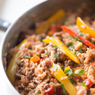 One Pot Unstuffed Peppers.