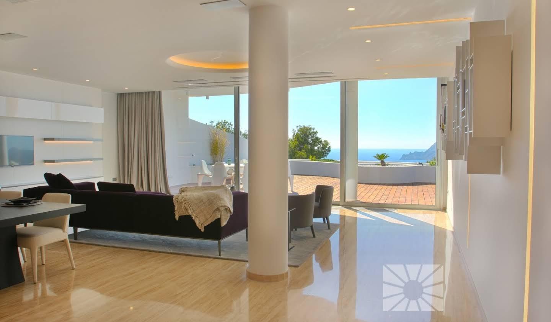 Appartement contemporain avec terrasse et piscine Altea
