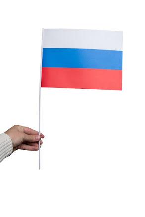 Pappersflagga, Ryssland