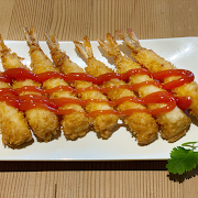 Deep Fried Shrimp with Sweet Chilli