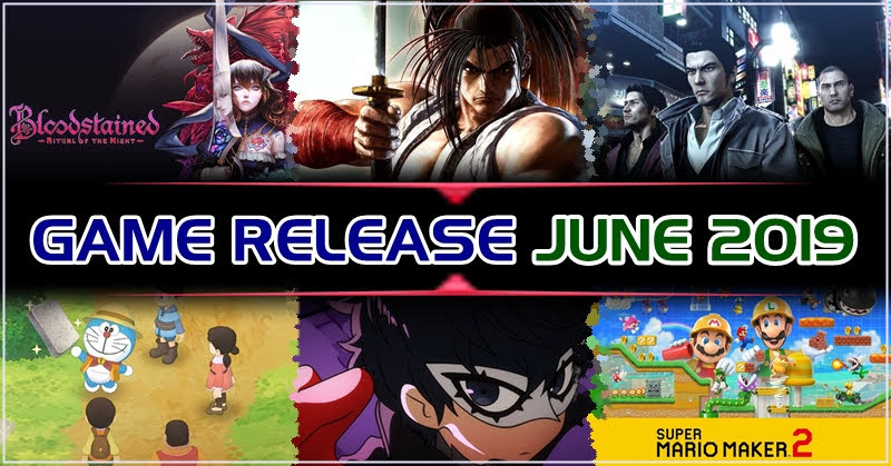 Game Release June 2019
