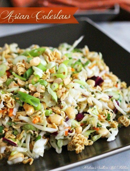 Click Here for Recipe: Asian Coleslaw
