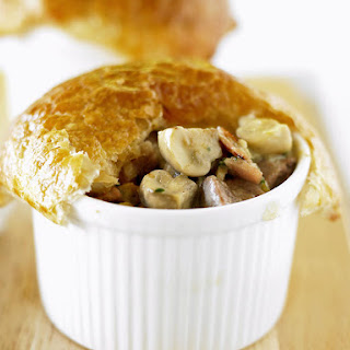 Turkey, Leek and Mushroom Pies