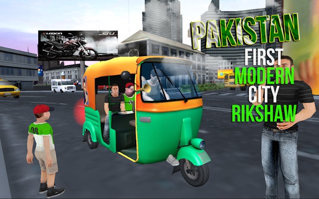 City Tuk Tuk Auto Rickshaw - screenshot