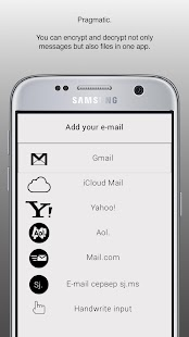 EmailSecure - PGP Mail Client- screenshot thumbnail
