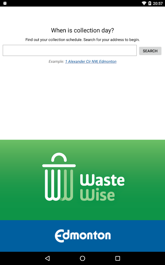 Edmonton Waste Wise- screenshot