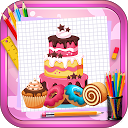 Learn to Draw Sweet Food, Desserts & Cakes APK