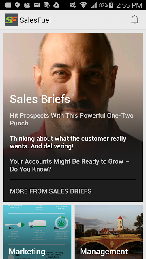 SalesFuel Insights- screenshot