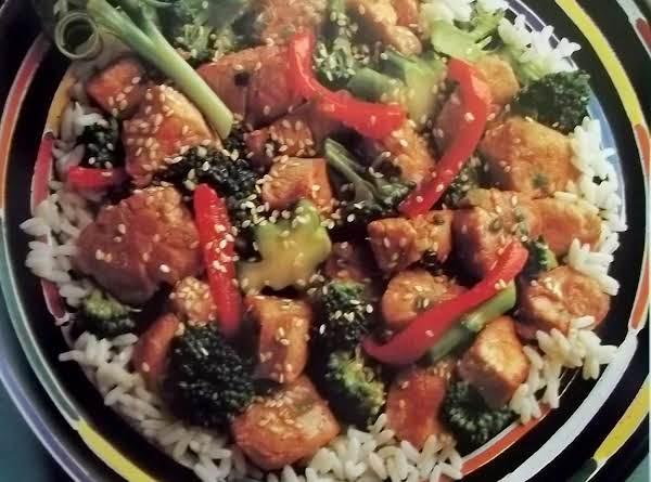 Sesame Pork With Broccoli Recipe
