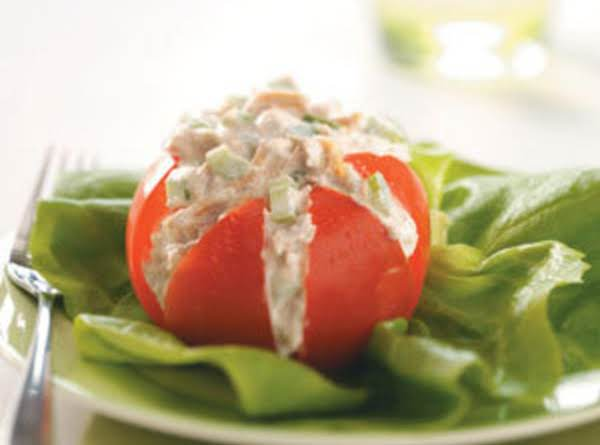 Tuna Salad In Tomato Cups Recipe