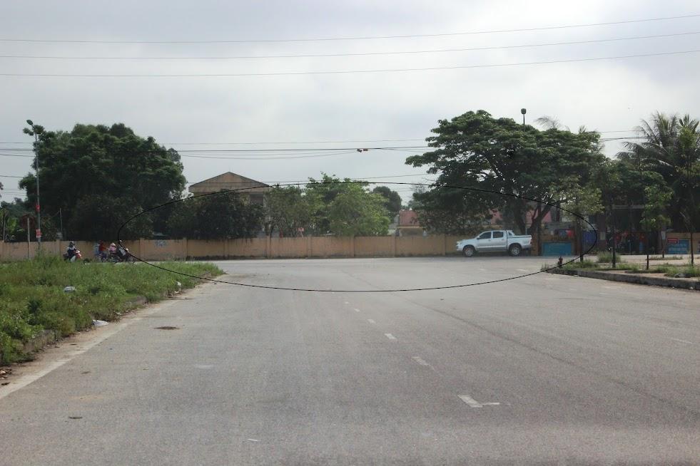 Dự án đại lộ Vinh - Cửa Lò đang còn hơn 2 km chưa giải phóng mặt bằng